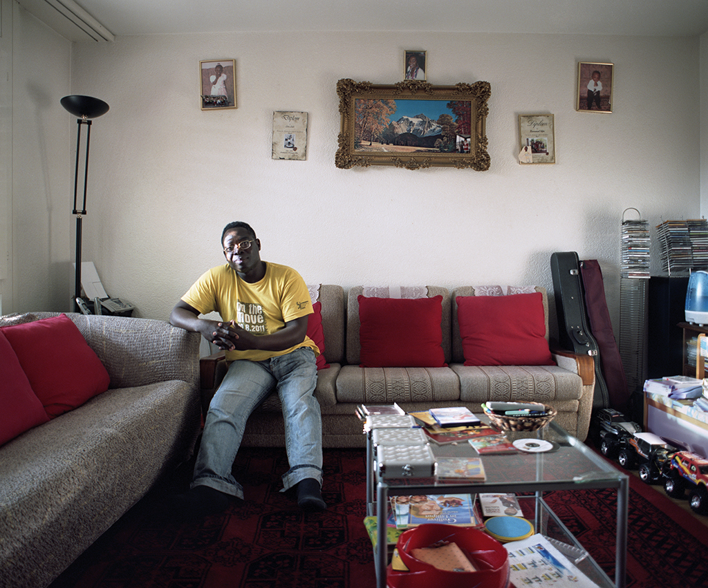 From the book 'New World - Stories of African immigration and integration in Switzerland' - 2012